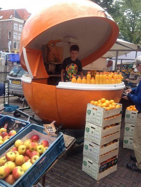 Fresh Juice Station